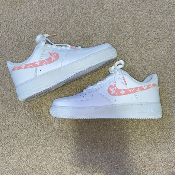 Nike Shoes Air Force 1 Custom Lv Poshmark